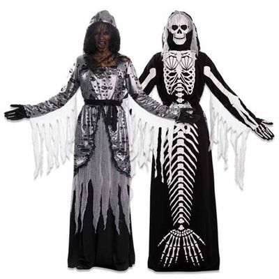 Double fun! Zeemeermin skelet jurk