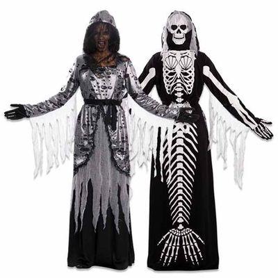 Foto van Double fun! Zeemeermin skelet jurk
