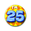 Afbeelding van Button 25 jaar