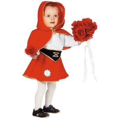 Roodkapje kostuum baby
