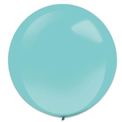 Ballonnen robin egg blue (60cm) 4st