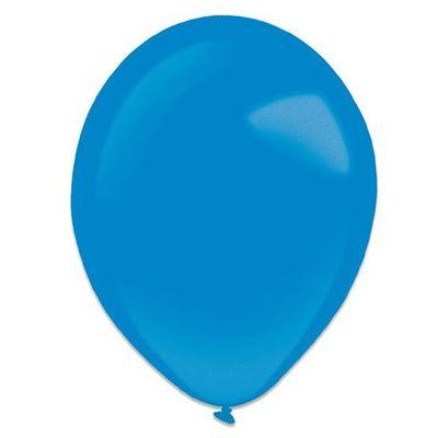 Ballonnen royal blue metallic (13cm) 100st