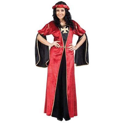 Middeleeuwse jurk - rood