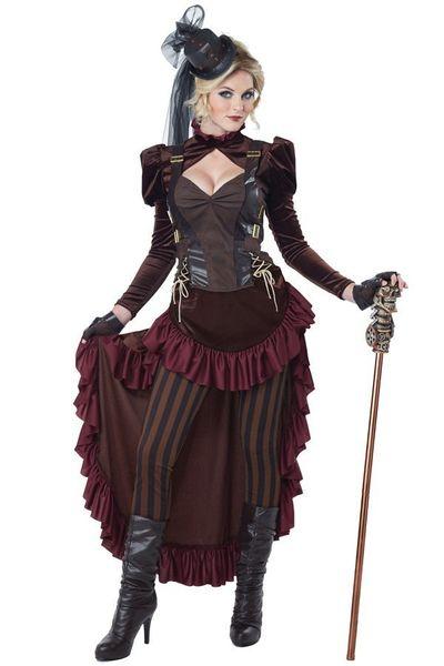 Victoriaanse Steampunk jurk
