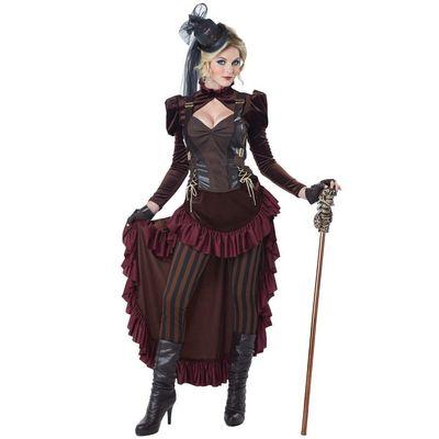 Foto van Victoriaanse Steampunk jurk