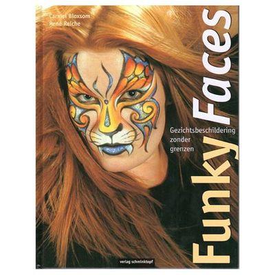Foto van Schminkboek funky faces