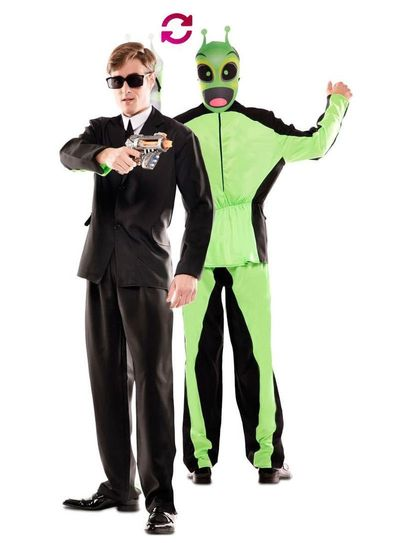 Double fun! Men in Black kostuum