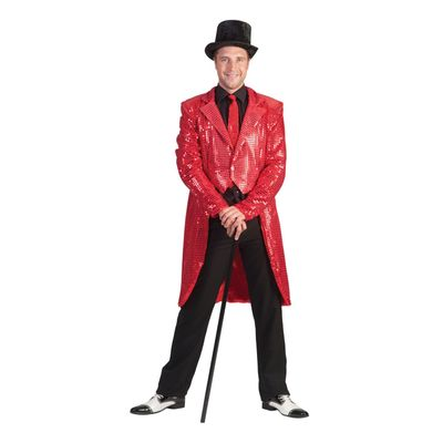 Foto van Circus slipjas rood heren