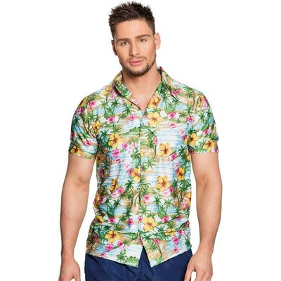 Foto van Hawaii shirt heren