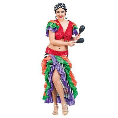 Braziliaans kostuum dames