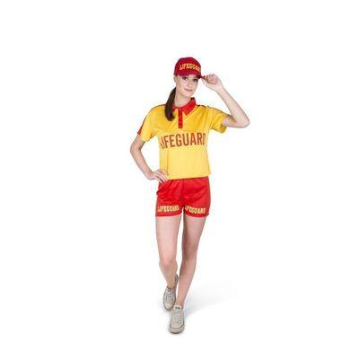 Foto van Strandwacht kostuum dames