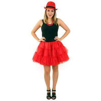 Foto van Petticoat rood