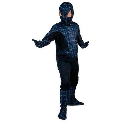 Spiderman pak zwart kind