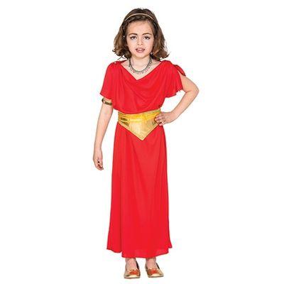 Foto van Romeinse hofdame kostuum kind