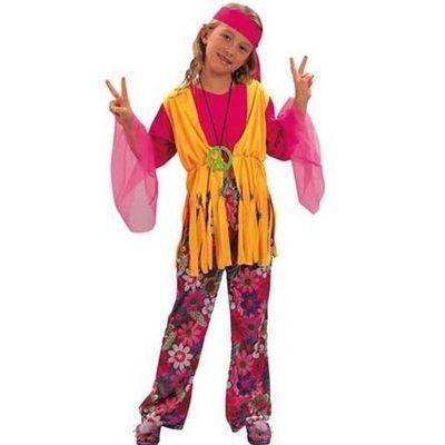 Hippie meisje kostuum