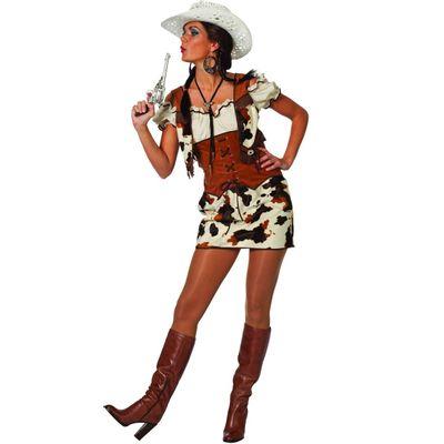 Foto van Cowgirl kostuum - Luxe