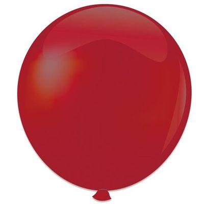 Foto van Topballon bordeaux (91cm) 6st