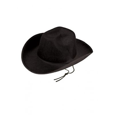 Foto van Cowboyhoed vilt zwart