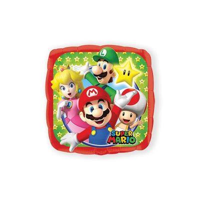 Foto van Folieballon Super Mario