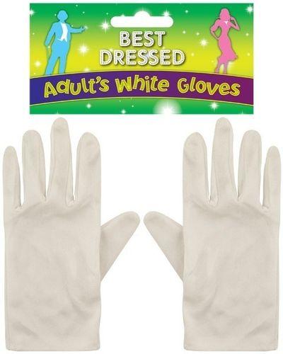 Witte Handschoenen Volwassenen