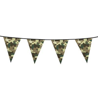 Camouflage vlag Groen /6mtr