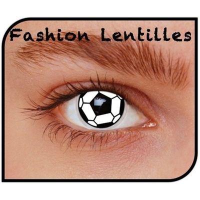 Foto van Kleurlenzen voetbal maandlenzen