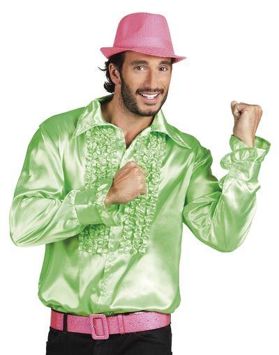 Disco blouse groen