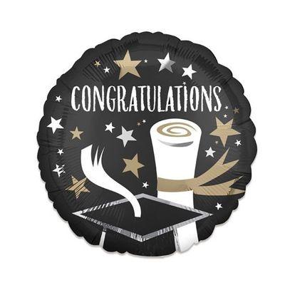 Folieballon congratulations