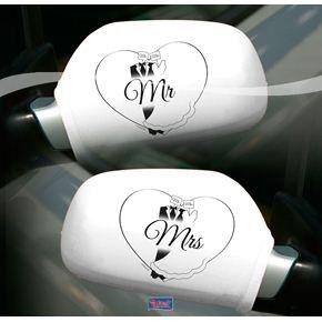 Autospiegel Hoes Bruiloft
