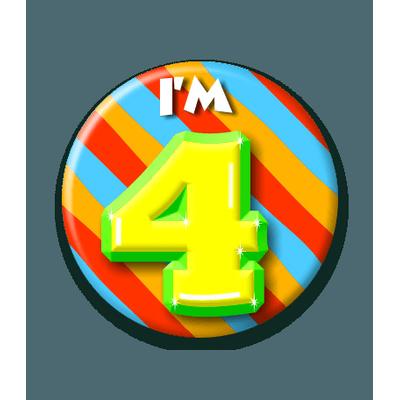 Button 4 jaar
