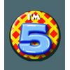 Afbeelding van Button 5 jaar