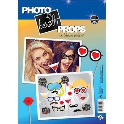 Foto van Photo booth props (20 stuks)