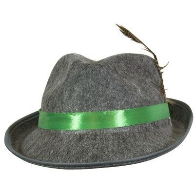 Oktoberfest hoedje kind - grijs