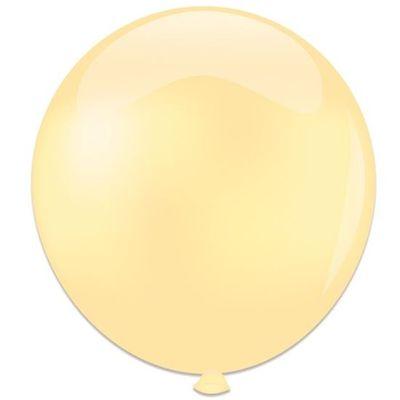 Foto van Topballon ivoor (91cm) 6st