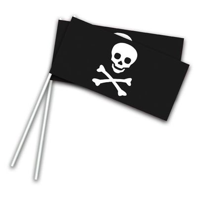 Zwaaivlaggetjes piraat