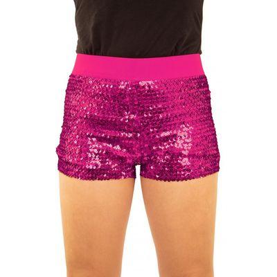 Foto van Glitter broekje showgirl roze