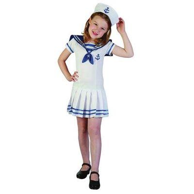 Marine kostuum meisje