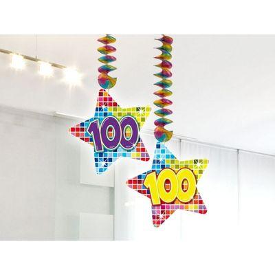 Foto van Hangdecoratie Birthday Block 100 jaar