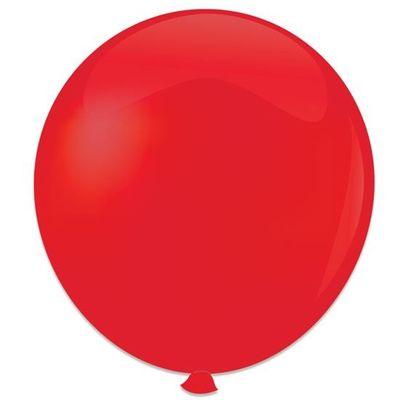 Topballon rood (91cm) 6st
