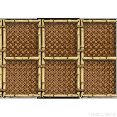 Foto van Bamboe decoratie banner (15meter)