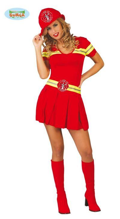 Brandweervrouw jurkje