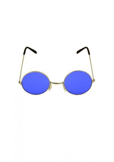 Hippie bril blauw