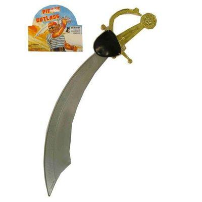 Krom zwaard grijs+ooglap in z.b.