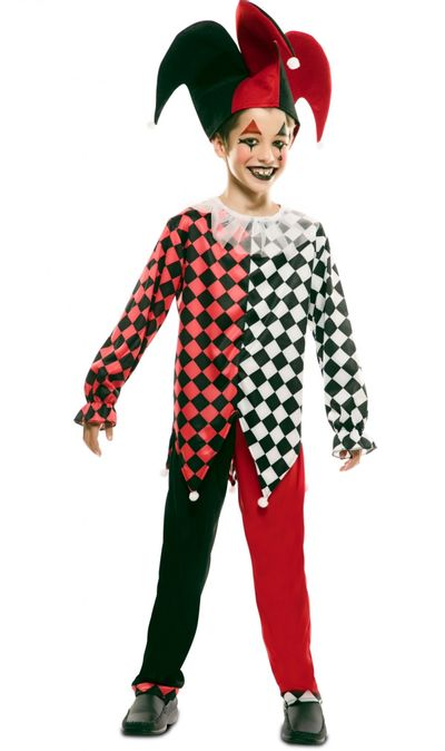 Harlekijn kostuum jongen