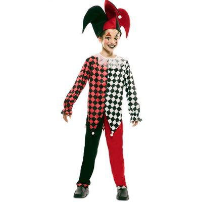 Foto van Harlekijn kostuum jongen
