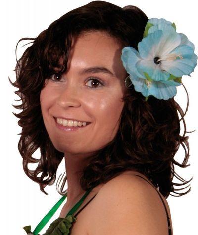 Hawai Haarclip Bloemen 6 assort/stk
