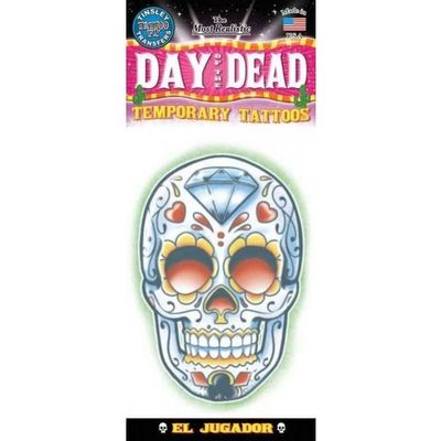 Foto van Day of The Dead Doodskop neptattoo