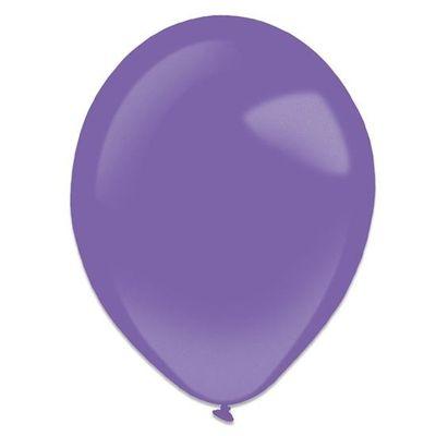 Ballonnen purple metallic (13cm) 100st