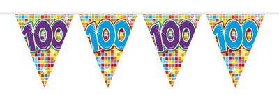 Mini Vlaggenlijn Bday Blocks 100 jaar