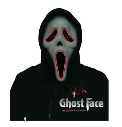 Scream masker met licht